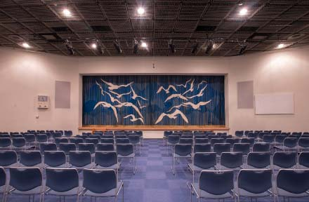 客席(ステージから)